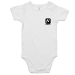 Logo Romper - White - Nugget Industries