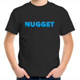 Shout Blue Kids T-Shirt - Black - Nugget Industries
