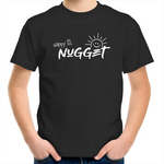 Happy Lil Nugget Kids T-Shirt - Black - Nugget Industries