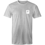 Luxe T-Shirt - Grey Marle - Nugget Industries