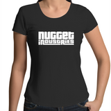 GTA Scoop Neck Tee - Black - Nugget Industries
