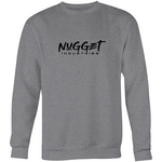 Staple Crew Neck Jumper - Grey Marle - Nugget Industries