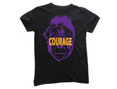 TFA Gorilla Courage Mens Black Tee