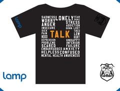 The Funk Academy & Lamp TALK IS POSITIVE (black) (w)