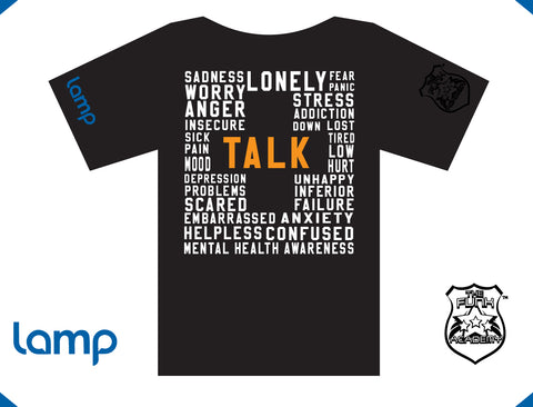 The Funk Academy & Lamp TALK IS POSITIVE (black) (m)