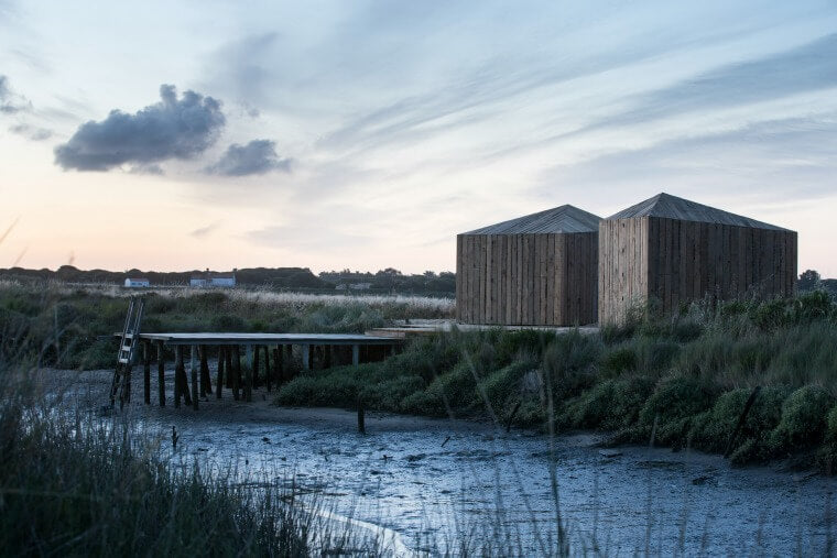 Design Inspiration - Cabanas no Rio on the river Sado, Comporta