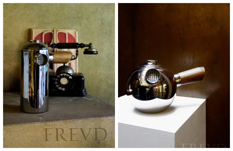 Stainless Steel Cafetiere and Teapot by Freud