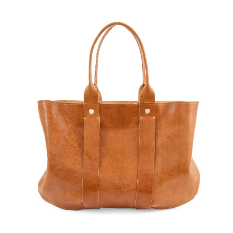 The Perfect brown leather tote bag, La Tropezienne 8