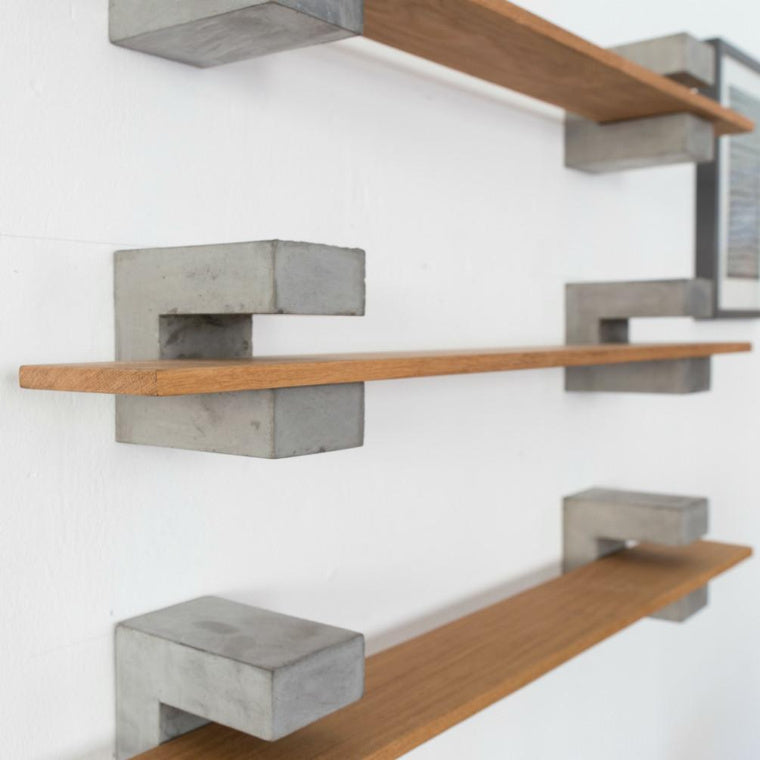 Concrete shelf brackets