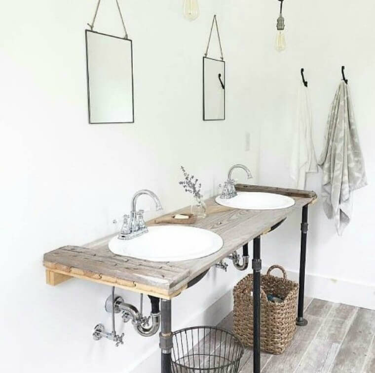 Bathroom inspiration via pinterest