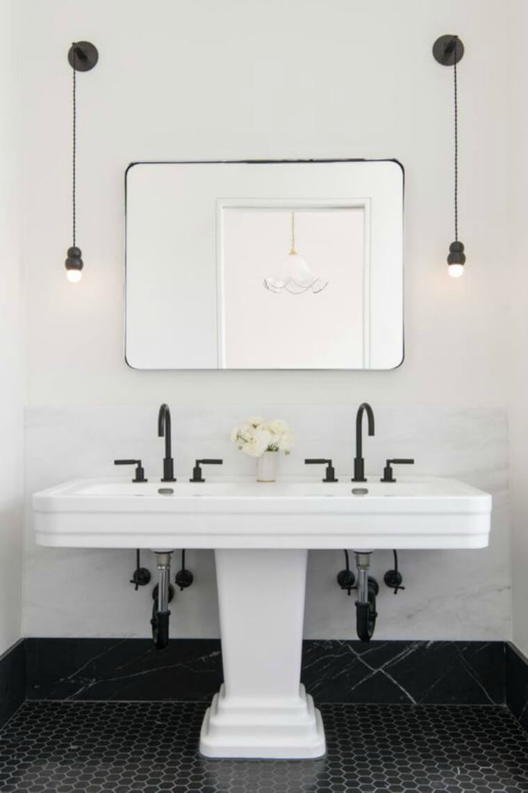 Double sink Remodelista