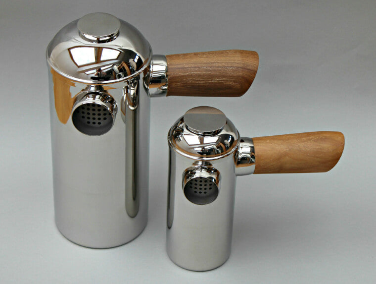 Freud Large and Small stainless steel Cafetiere
