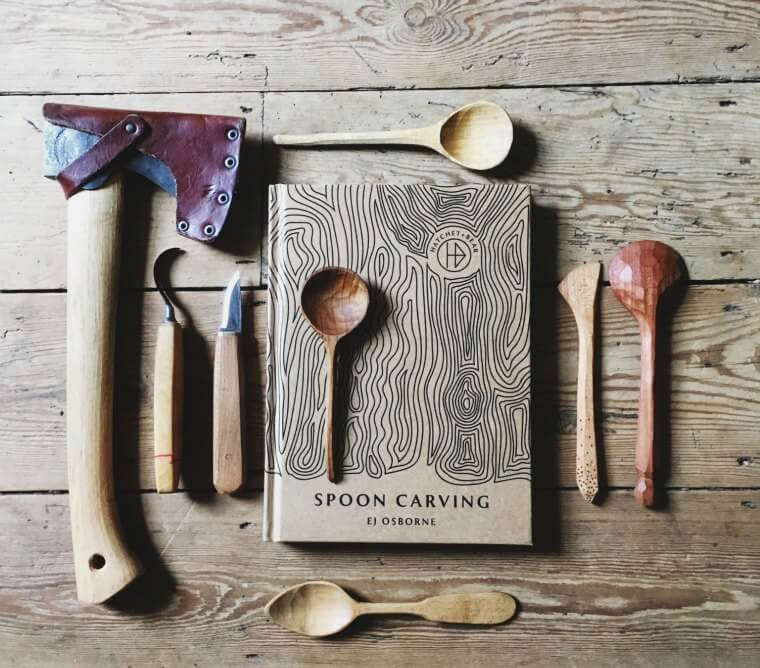 Spoon Carving by E J Osbourne of Hatchet + Bear