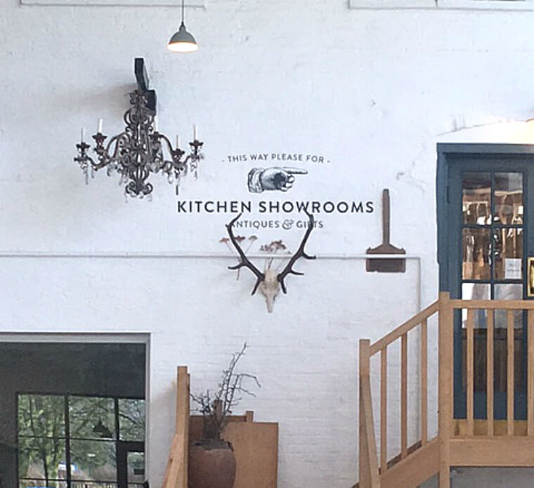 Kitchen Showroom sign