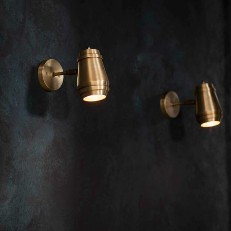 Bert Frank Cask Wall Light