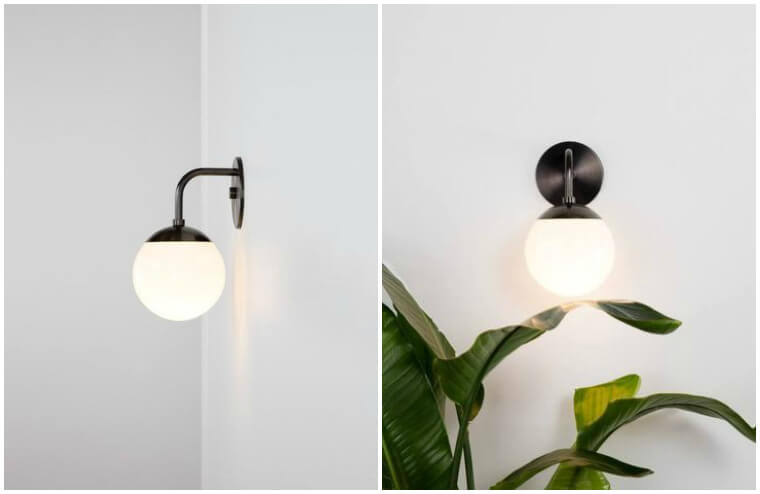 Allied Maker Globe Sconce