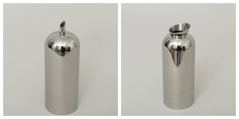 Designed in England, these stainless steel milk & sugar pourers are simple yet striking in their design. The milk & sugar pourers are dishwasher safe and hold 400ml of milk or sugar and looks fantastic alongside each other.