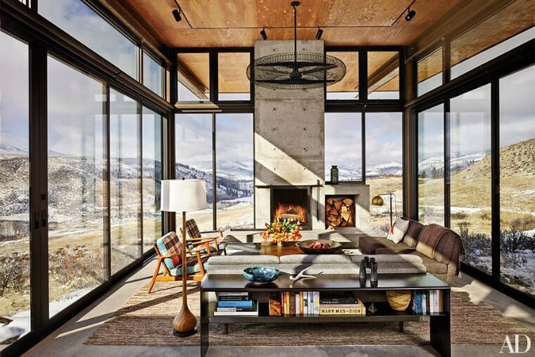 Olson Kundig Cascade mountain compound 760x