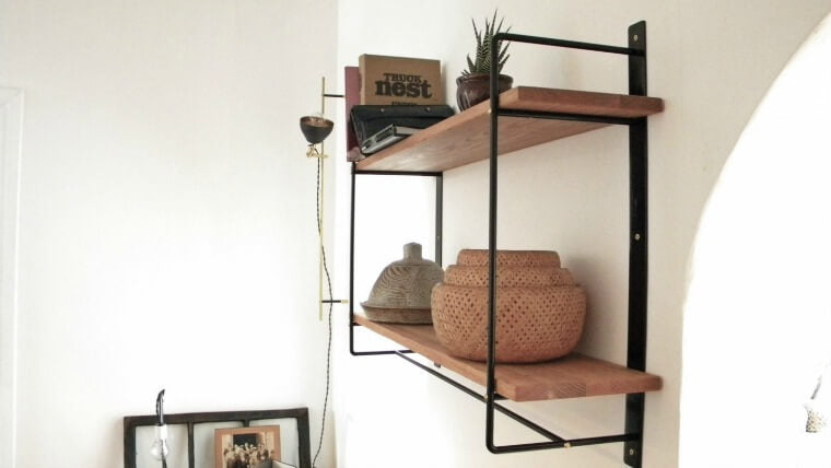 Such & Such Shelving Search - MDT Muraline double shelving brackets