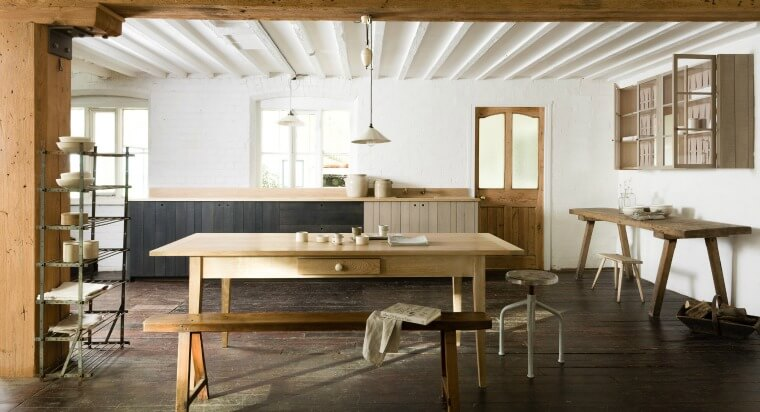 Devol Kitchen & Their cotes Mill Showroom, Kitchen by Sebastian Cox for Devol. Image via Devol
