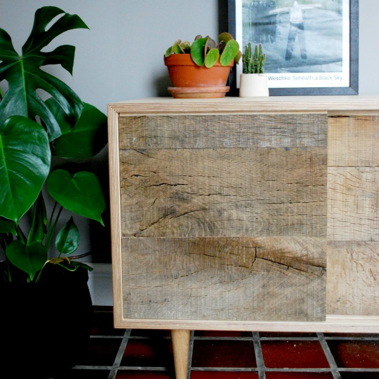 Oak Sideboard created by Oliver & Josh of Forge Creative from the series Money For Nothing