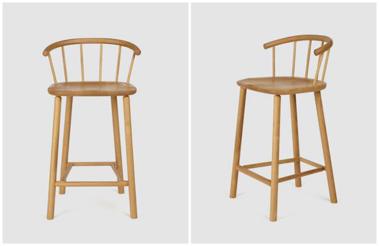 Another Country Hardy Wooden Bar Stool