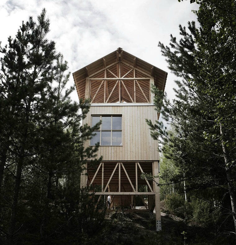 Design Inspiration: the loft house, bergaliv, sweden