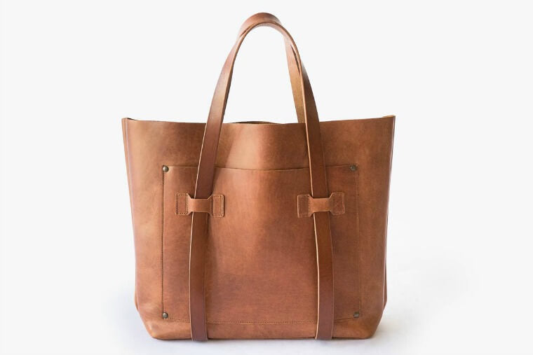 The Perfect brown leather tote bag, WP+Standard Cargo Tote