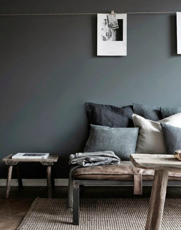 Grey Interiors A Swedish apartment featured on the blog My Scandinavian Home
