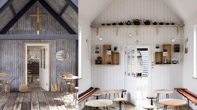 Top 5: Favourite shopping stores, Tin Tabernacle Tearoom at Baileys, Ross on Wye. Image via Baileys