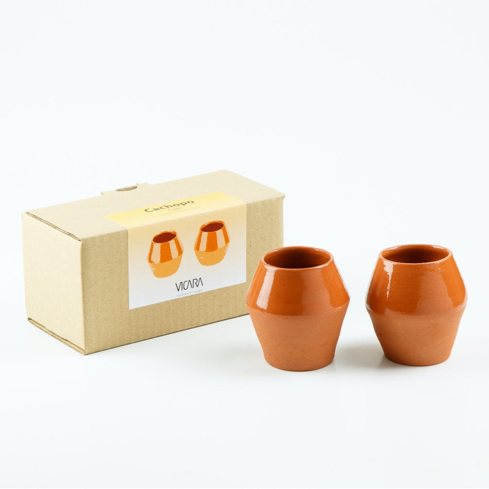 Cachopo Terracotta Tumblers - Set of 2