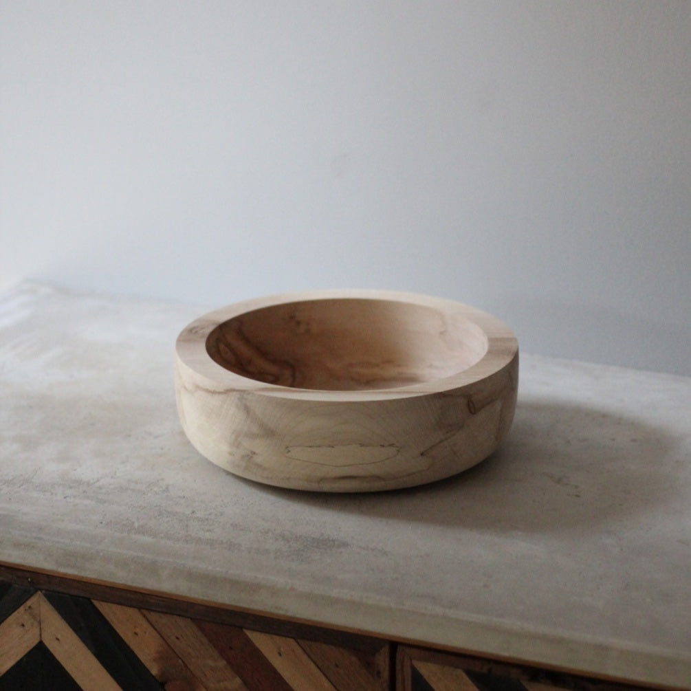 Chunky Spalted Sycamore Bowl