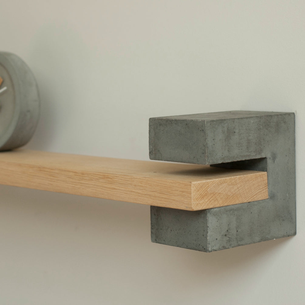 Wood & Concrete Shelf