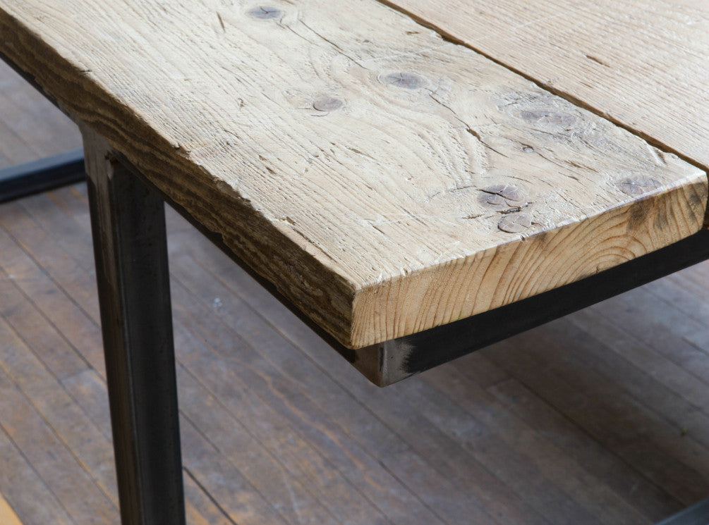 Reclaimed Wood Dining Table | Nikki Sanders
