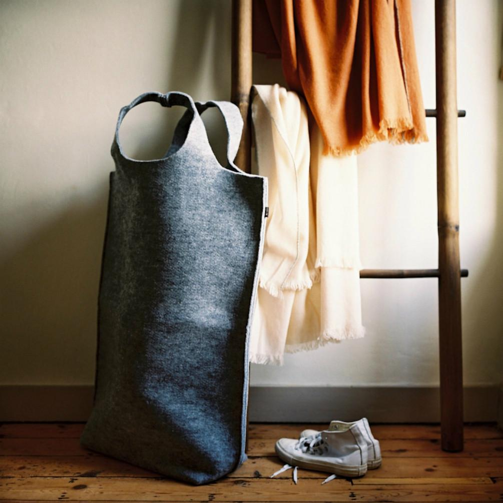 Hendee XL - Light Grey Laundry/Storage Bag