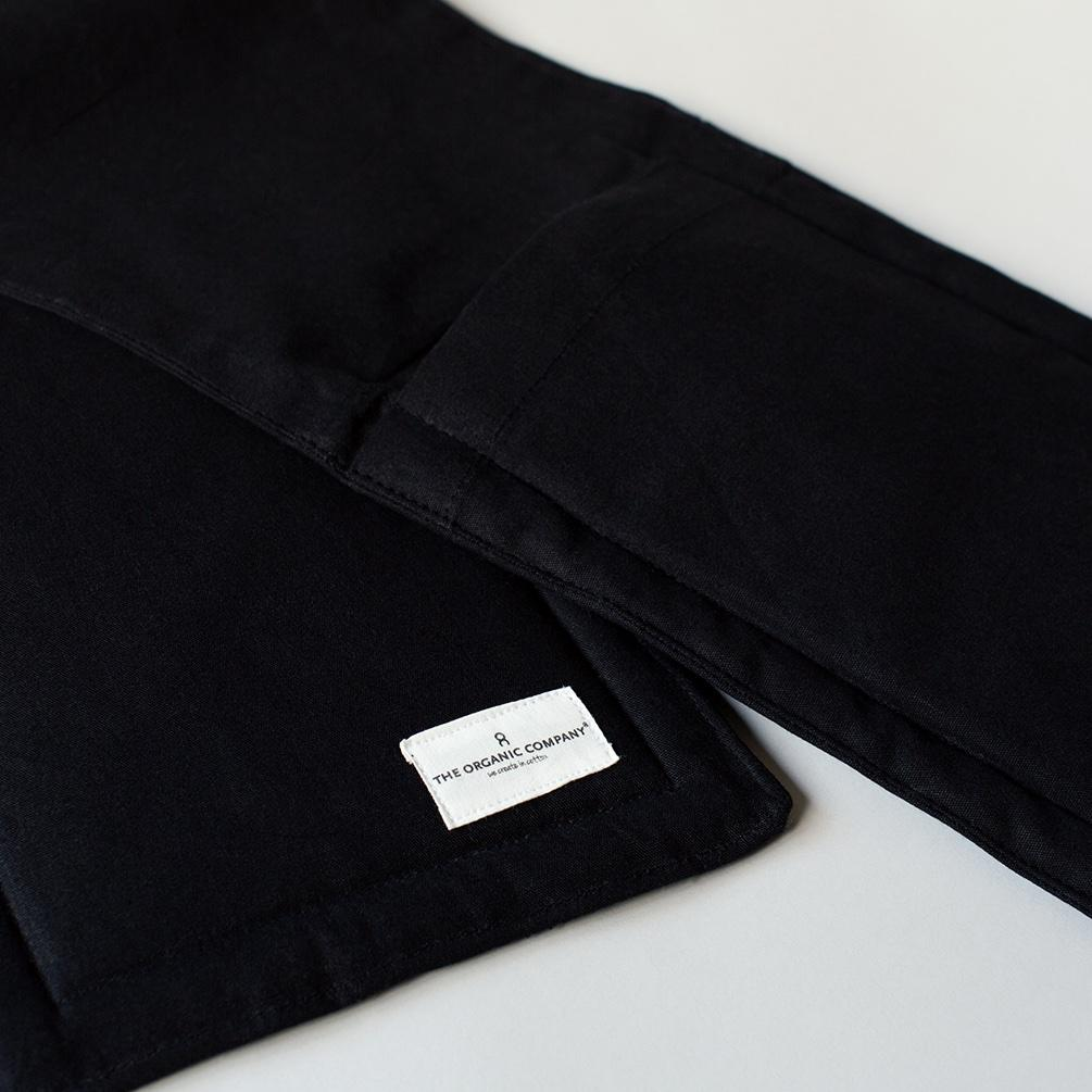 Organic Cotton Oven Gloves - Black