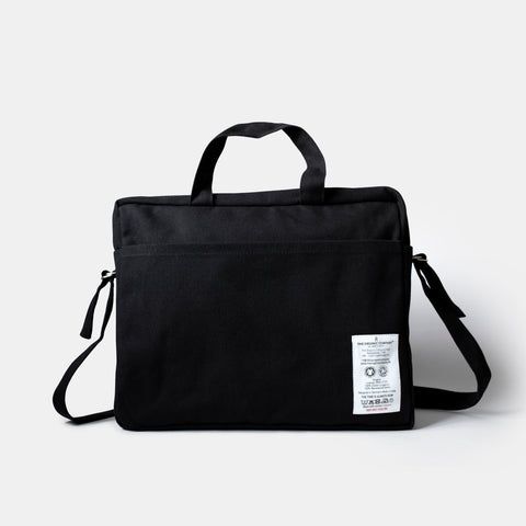 Organic Cotton Everyday Bag - Black