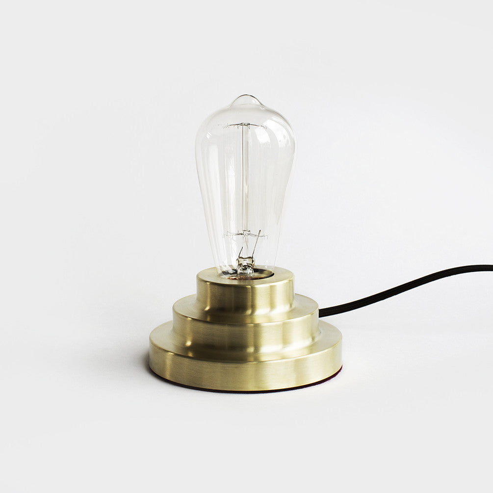Podium Lamp - Brass