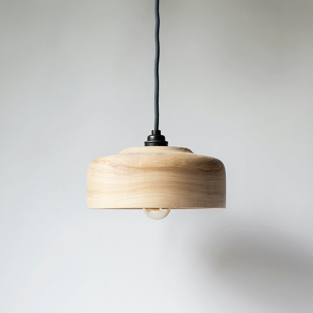 Wooden Pendant Light Shade - Ash