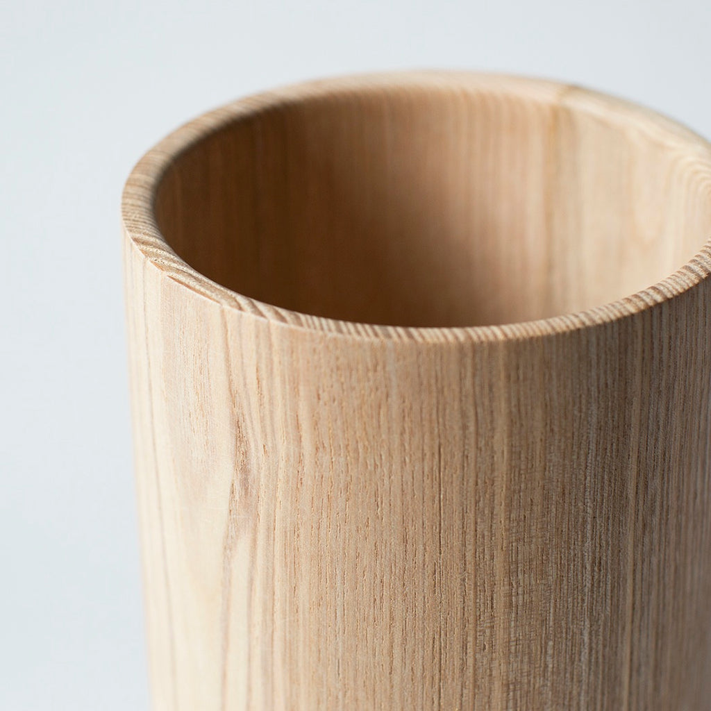 Wooden Utensil Holder - Ash