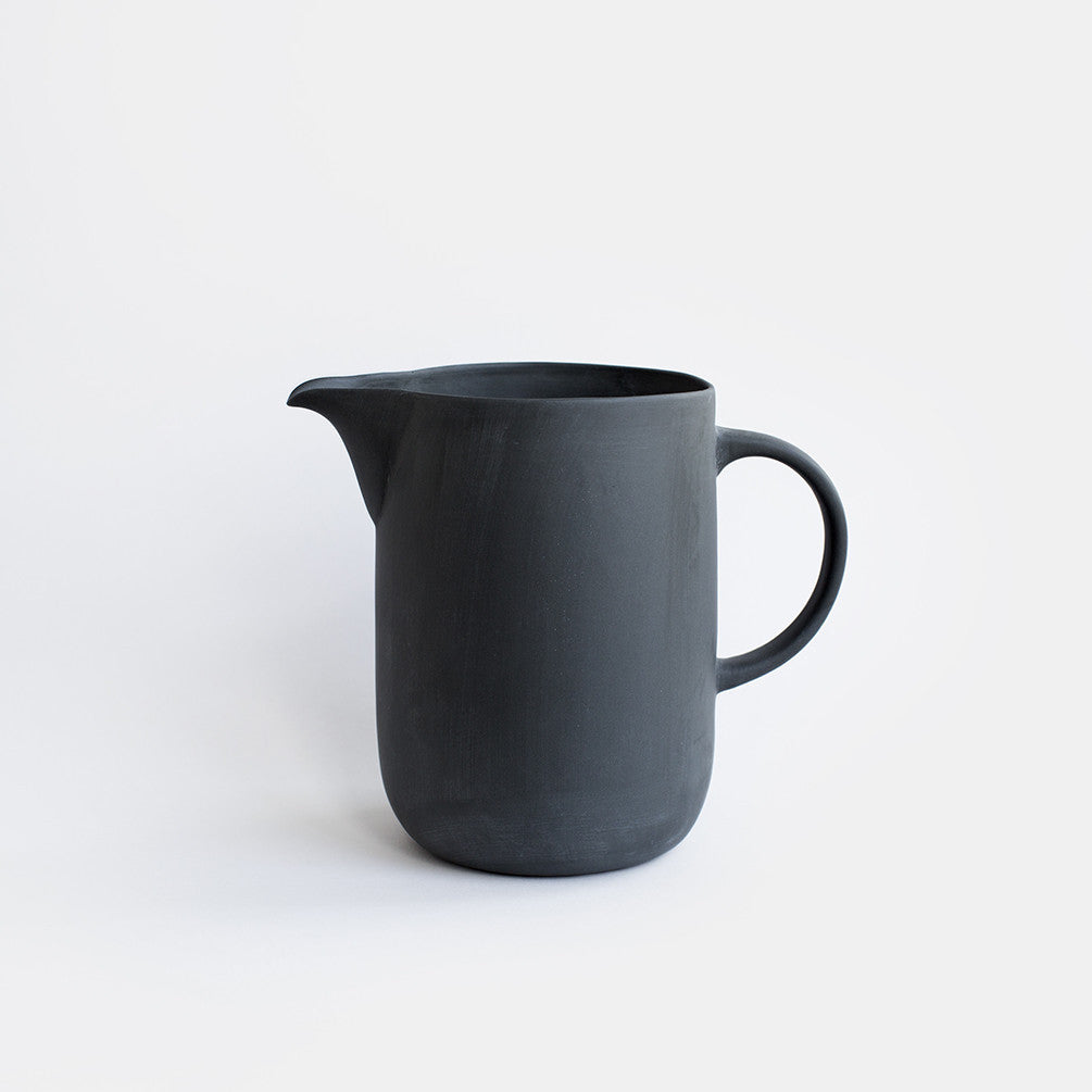 Mr & Mrs Water Jug - Charcoal