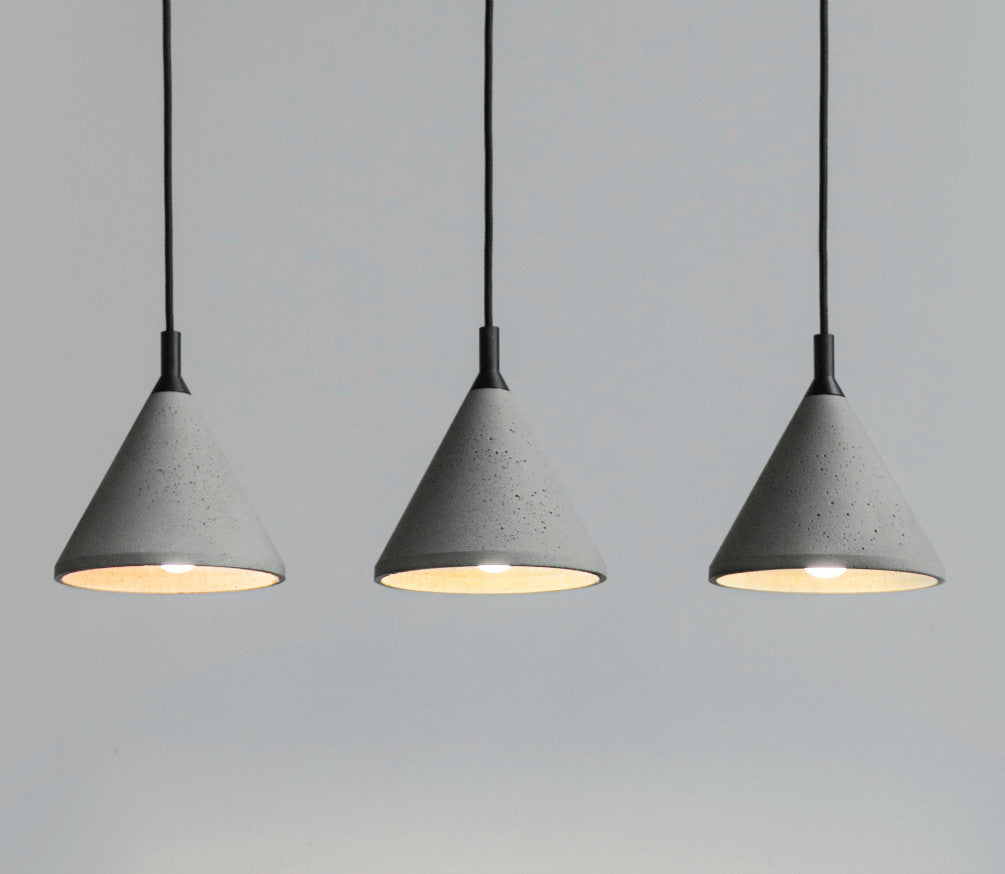 in concrete lighting. Delighful Lighting Zhong Concrete Pendant To In Lighting S