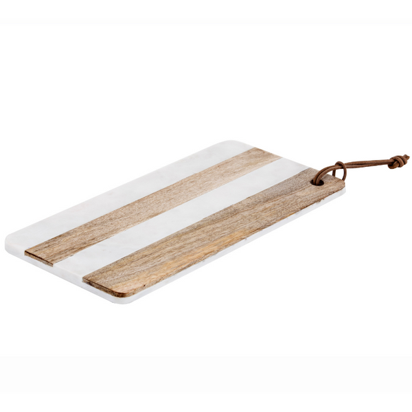 Eliot striped serving board