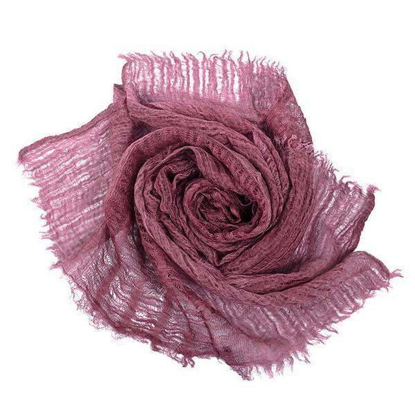 Luxe Linen Open-Weave Scarf (Pre-Order) - Stella Carakasi - Accessories