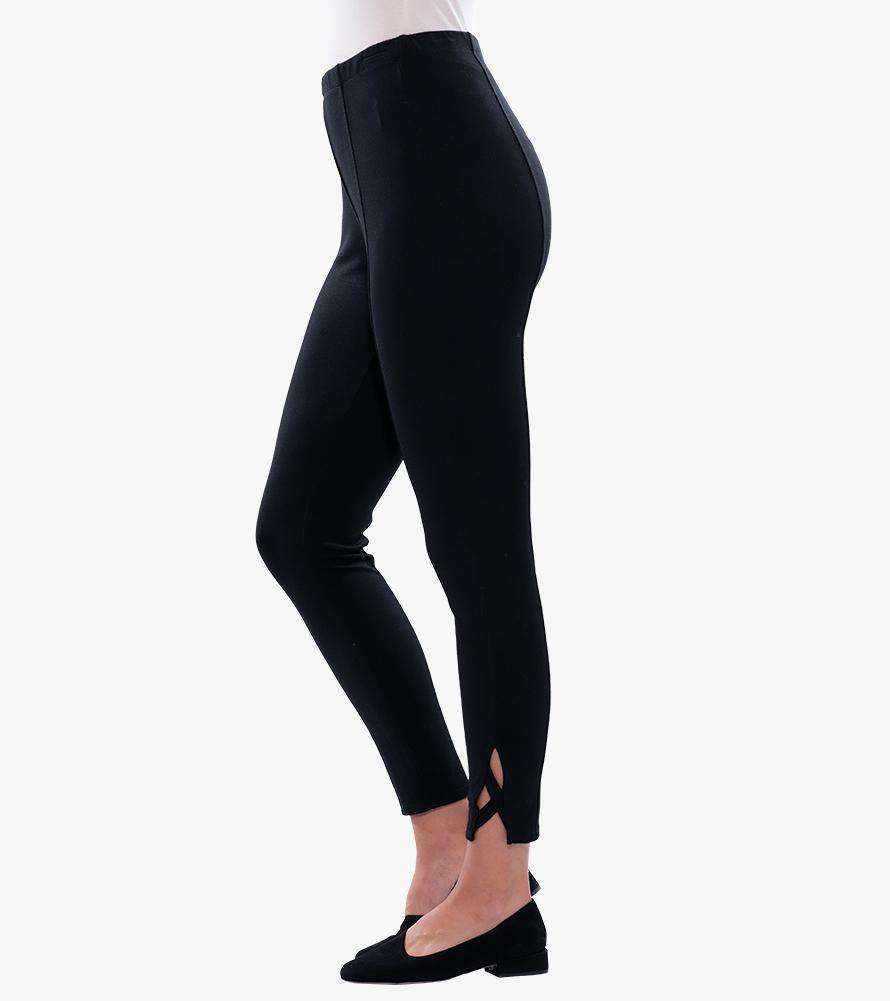 Criss-Cross Ponte Leggings - Stella Carakasi - Bottoms