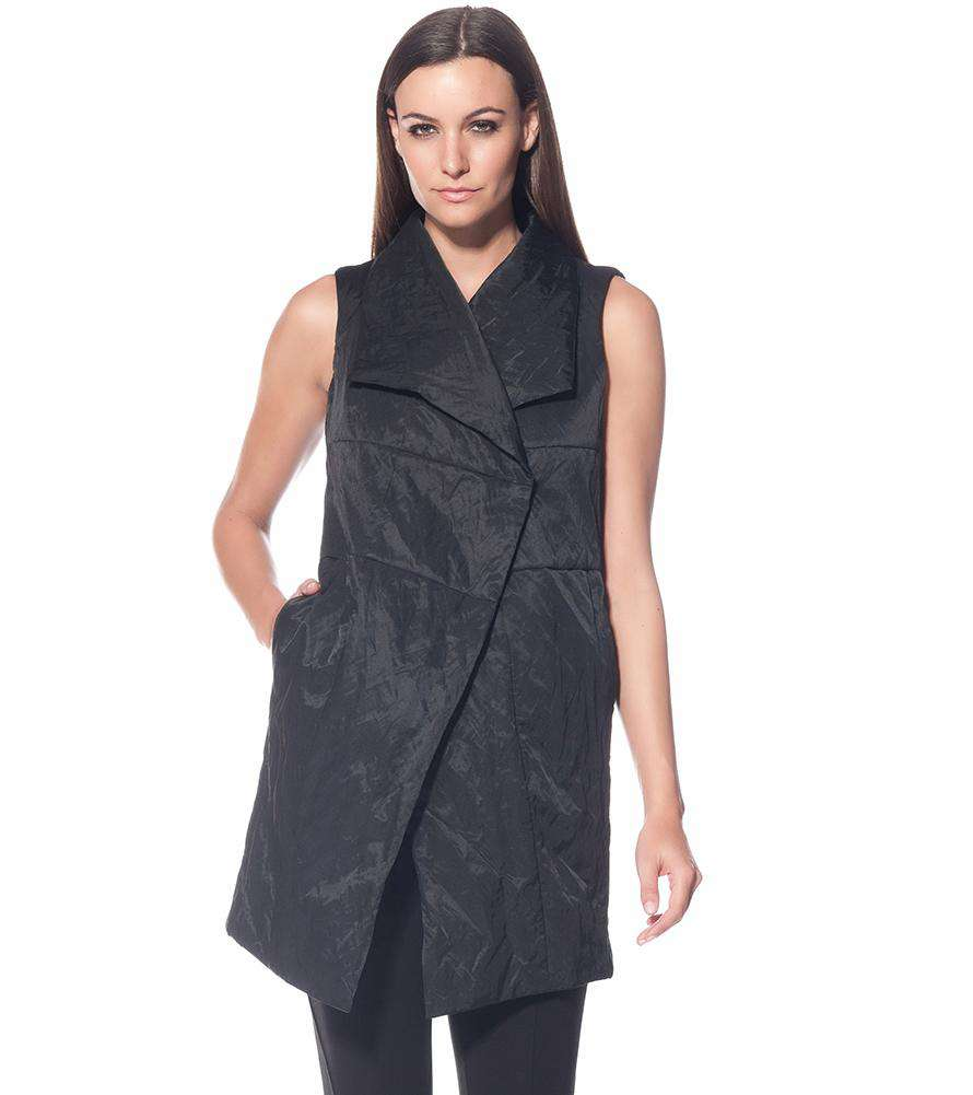 The Cover Up Vest (Final Sale) - Stella Carakasi - Coats & Jackets