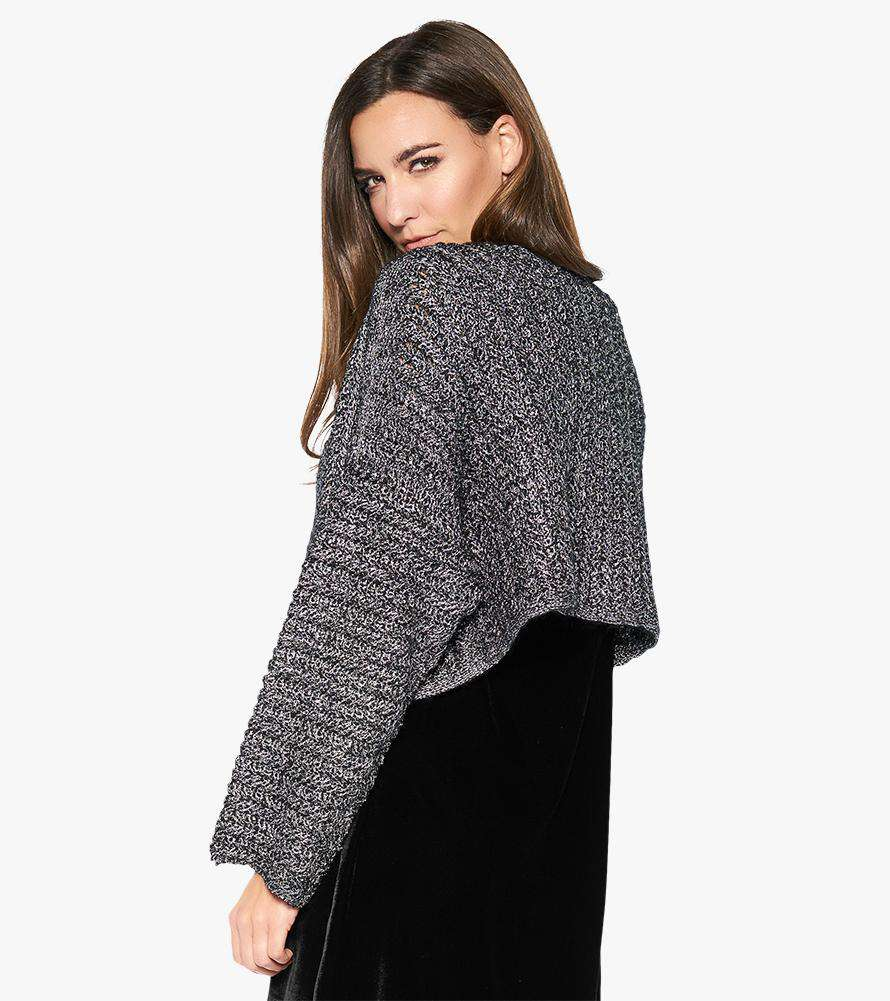 Holding Pattern Cropped Cardigan (Final Sale) - Stella Carakasi - Sweaters