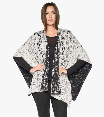 Reversible Let Loose Wrap - Stella Carakasi - Sweaters