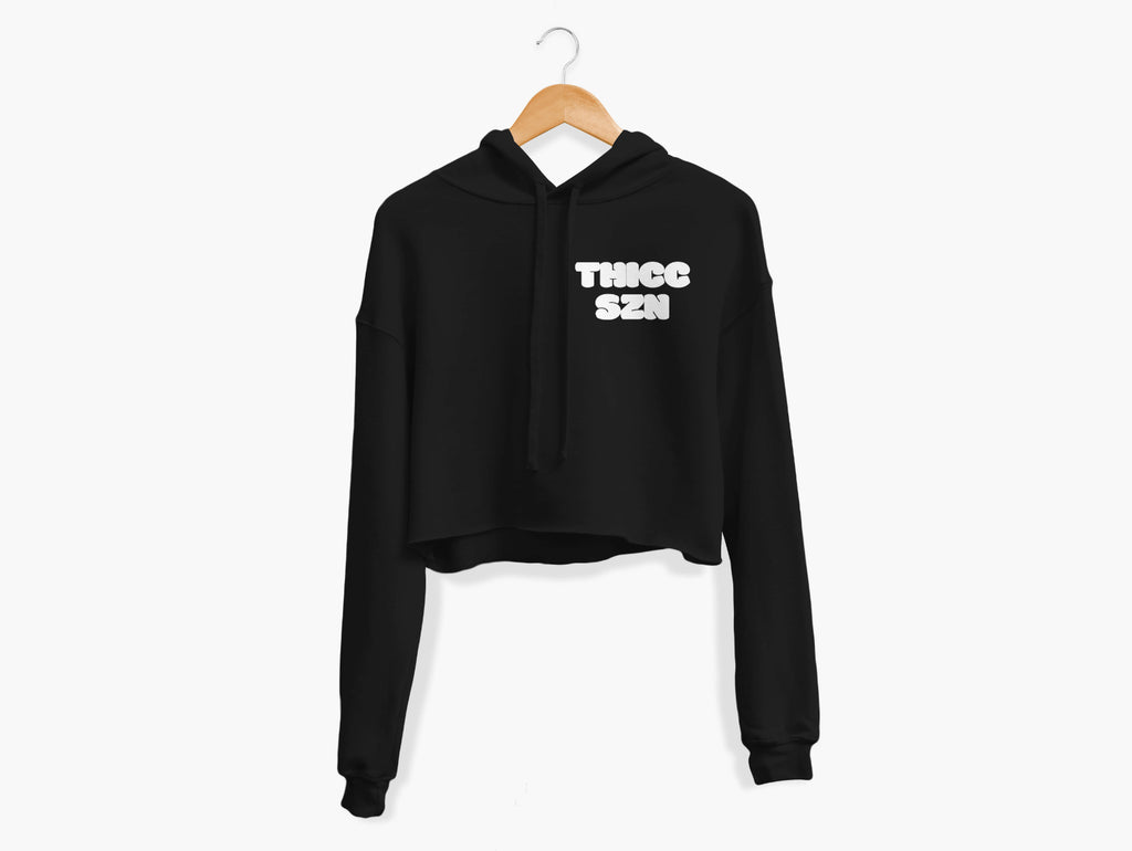 THICC SZN Cropped Hoodie