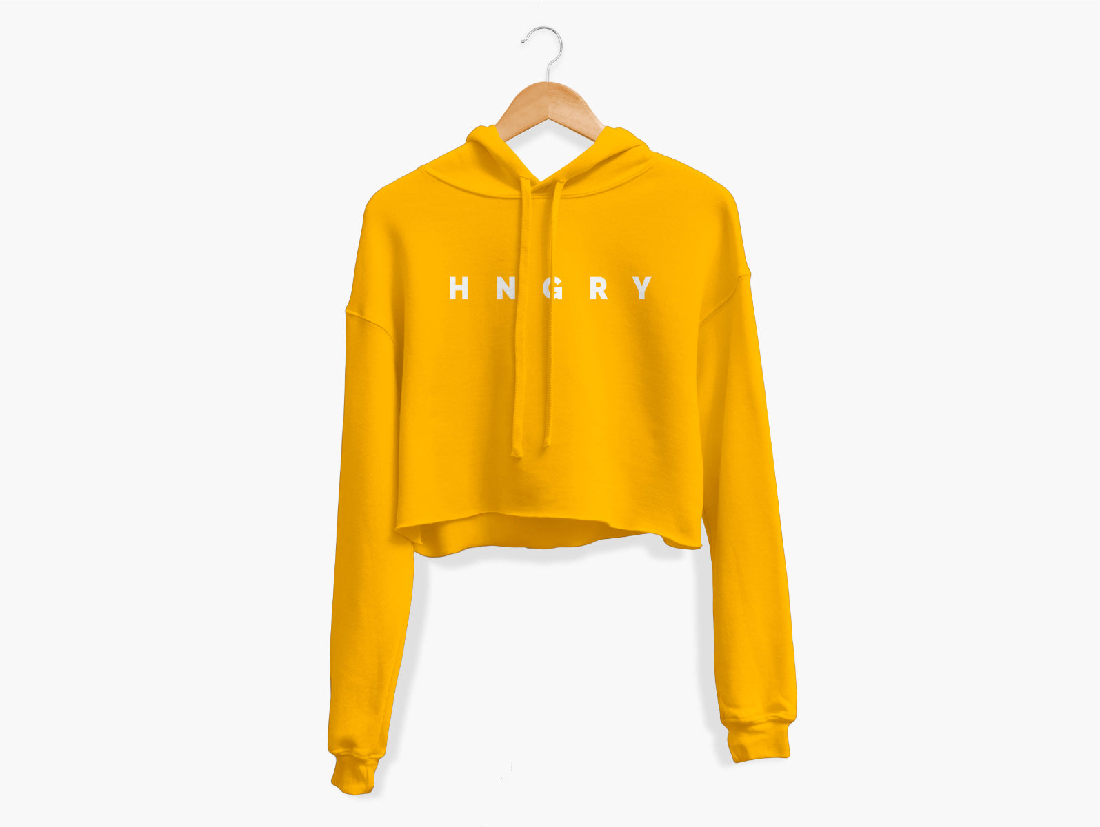 HNGRY Cropped Hoodie